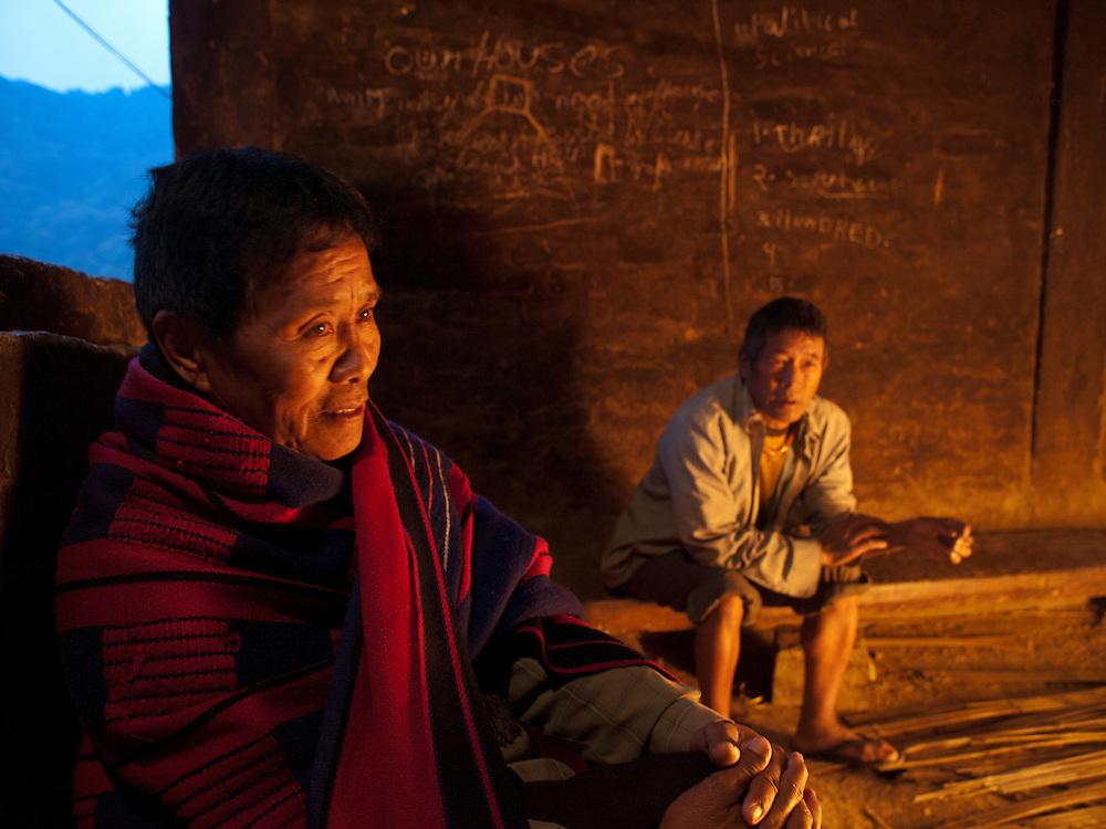 Tsilie Sakhrie, Secretary of Khonoma Nature Conservation and Trogopan Sacntuary.