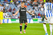 Martyn Waghorn of Derby County (9) reacts during the EFL Sky Bet Championship match between Huddersfield Town and Derby County at the John Smiths Stadium, Huddersfield, England on 5 August 2019.