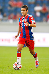 21.07.2014, Schau Ins Land Arena, Duisburg, GER, FS Vorbereitung, MSV Duisburg vs FC Bayern Muenchen, im Bild Sommer-Neuzugang Juan Bernat (FC Bayern Muenchen #18) // during a Friendly Match between MSV Duisburg and FC Bayern Muenchen at the Schau Ins Land Arena in Duisburg, Germany on 2014/07/21. EXPA Pictures © 2014, PhotoCredit: EXPA/ Eibner-Pressefoto/ Schueler<br /> <br /> *****ATTENTION - OUT of GER*****