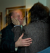 PAUL KARSLAKE AND RONNIE WOOD, Ideas And Idols - private view of work by Paul Karslake.<br />