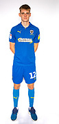 AFC Wimbledon Jack Rudoni (12) during the official team photocall for AFC Wimbledon at the Cherry Red Records Stadium, Kingston, England on 8 August 2019.