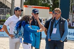 Dubbeldam Jeroen, NED<br /> Rotterdam - Europameisterschaft Dressur, Springen und Para-Dressur 2019<br /> Parcoursbesichtigung<br /> Longines FEI Jumping European Championship - 1st part - speed competition against the clock<br /> 1. Runde Zeitspringen<br /> 21. August 2019<br /> © www.sportfotos-lafrentz.de/Dirk Caremans