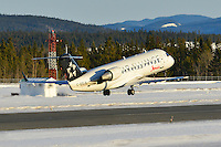Air Canada Jazz Bombardier CRJ-200 Star Alliance