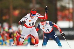 25.02.2015, Lugnet Ski Stadium, Falun, SWE, FIS Weltmeisterschaften Ski Nordisch, Falun 2015, Langlauf, Herren, 15km, im Bild JAN ANTOLEC // during the Mens 15km Cross Country Race of the FIS Nordic Ski World Championships 2015 at the Lugnet Ski Stadium in Falun, Sweden on 2015/02/25. EXPA Pictures © 2015, PhotoCredit: EXPA/ Newspix/ Radoslaw Jozwiak<br /> <br /> *****ATTENTION - for AUT, SLO, CRO, SRB, BIH, MAZ, TUR, SUI, SWE only*****