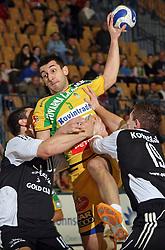 Dragan Gajic of Celje  at handball match RK Celje Pivovarna Lasko vs RK Gold Club in semifinal of Slovenian Handball Cup, on March 29, 2008 in Celje, Slovenia. Won of Gold Club 37:38. (Photo by Vid Ponikvar / Sportal Images)