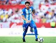 SEVILLE, SPAIN - SEPTEMBER 30:  Adalberto Penaranda of Malaga CF in action during the La Liga match between Sevilla and Malaga at Estadio Ramon Sanchez Pizjuan on September 30, 2017 in Seville  (Photo by Aitor Alcalde Colomer/Getty Images)