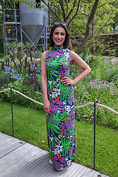 © Licensed to London News Pictures. 20/05/2019. London, UK. Anita Rani attends Chelsea Flower Show. <br /> The Royal Horticultural Society Chelsea Flower Show is an annual garden show held over five days in the grounds of the Royal Hospital Chelsea in West London. The show is open to the public from 21 May until 25 May 2019. Photo credit: Dinendra Haria/LNP