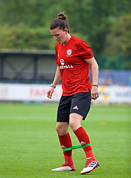 NEWPORT, WALES - Monday, June 4, 2018: Wales' Helen Ward during a training session at Dragon Park ahead of the FIFA Women's World Cup 2019 Qualifying Round Group 1 match against Bosnia and Herzegovina. (Pic by David Rawcliffe/Propaganda)