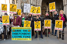8 Dec. 2014 - Royal Court rules end of independent living for disabled members of our Society.
