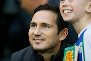 Derby County Manager Frank Lampard  during the EFL Sky Bet Championship match between Wigan Athletic and Derby County at the DW Stadium, Wigan, England on 8 December 2018.