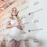 Marie-Mai : interprète féminine de l'année - Gala de l'ADISQ 2016, remise des trophées Felix aux gagnants -  Place des Arts / Montreal / Canada / 2016-10-30, © Photo Marc Gibert / adecom.ca