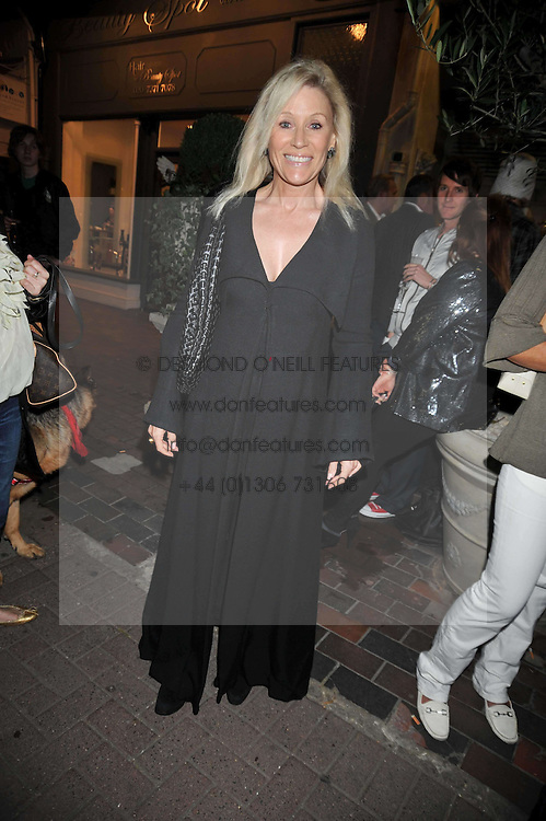 ANGIE BEST at the opening party for the new Gail Berry emporium at 187 New Kings Road, London SW6 on 30th September 2009.<br /> <br /> <br /> <br /> BYLINE MUST READ: donfeatures.com<br /> <br /> *THIS IMAGE IS STRICTLY FOR PAPER, MAGAZINE AND TV USE ONLY - NO WEB ALLOWED USAGE UNLESS PREVIOUSLY AGREED. PLEASE TELEPHONE 07092 235465 FOR THE UK OFFICE.*