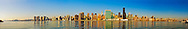 Manhattan, New York City, New York,  Midtown Skyline, East Side, East River, panorama