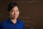 Yaqin Feng, Assistant Professor of Mathematics at Ohio University, poses for a portrait in her office in Morton Hall on August 25, 2016.