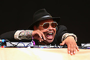 LONDON, ENGLAND - JULY 18:  DJ Craig Charles performs live on the Main Stage during day two of Lovebox Festival 2015 at Victoria Park on July 18, 2015 in London, England.  (Photo by Simone Joyner/WireImage)