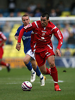 Photo: Rich Eaton.<br /> <br /> Millwall v Swindon Town. Coca Cola League 1. 29/09/2007. Swindon's Lee Peacock attacks.