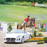 Waylon Roberts (CAN) and Bill Owen wins the CIC2* at the Jaguar Land Rover Bromont CCI in Bromont, Quebec.