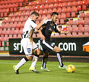 Dundee's Dylan Carrerio and Dunfermline's Josh Falkingham  - Dunfermline Athletic v Dundee - Scottish League Cup at East End Park<br /> <br />  - © David Young - www.davidyoungphoto.co.uk - email: davidyoungphoto@gmail.com