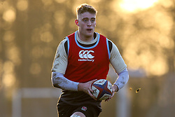 Alex Coles of England Under 20s - Mandatory by-line: Robbie Stephenson/JMP - 08/01/2019 - RUGBY - Bisham Abbey National Sports Centre - Bisham Village, England - England Under 20s v  - England Under 20s Training