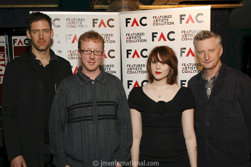 Steiring Committee: Ed OBrien, David Rowntree, Kate Nash & Billy Bragg
