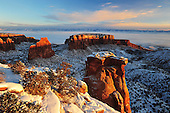 Canyons and Spires of the Colorado National Monument