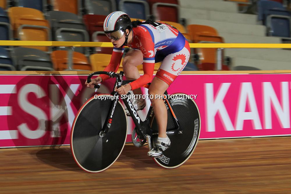 Yvonne Hijgenaar kwalificeerde zich als snelste op de sprint