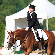 Stephanie Early and Panash at the 2010 North American Young Rider Championships in Lexington, Kentucky.