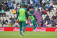 Cricket - 2019 ICC Cricket World Cup - Group Stage: South Africa vs. India<br /> <br /> David Miller of South Africa drops an easy catch off Rohit Sharma of India during the cricket world cup match at the Hampshire Bowl Southampton England<br /> <br /> COLORSPORT/SHAUN BOGGUST