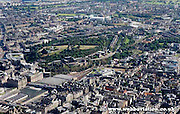 aerial photograph of Edinburgh Scotland