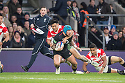 Twickenham, United Kingdom, Saturday, 17th  November 2018, RFU, Rugby, Stadium, England, Jack NOWELL looks for support, during the  Quilter Autumn International, England vs Japan, © Peter Spurrier