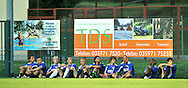 07-08-2008 Voetbal:BSV Sebnitz 68:Willem II: Sebnitz<br /> Oefenwedstrijd Willem II in Sebnitz<br /> Er zaten eens 11 kindertjes samen voor een hek<br /> Een groot deel van de basisspelers kregen grotendeels vrijaf vanavond<br /> Akgun, Janse, Demouge, Appels (derde doelman), Mathijssen, Quasten, Swinkels, Schenkels, Kargbo en Veloso<br /> Foto: Geert van Erven