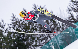 15.03.2019, Vikersundbakken, Vikersund, NOR, FIS Weltcup Skisprung, Raw Air, Vikersund, Qualifikation, Herren, im Bild Manuel Fettner (AUT) // Manuel Fettner of Austria during the men's qualifying of the 4th Stage of the Raw Air Series of FIS Ski Jumping World Cup at the Vikersundbakken in Vikersund, Norway on 2019/03/15. EXPA Pictures © 2019, PhotoCredit: EXPA/ JFK