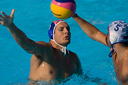 Slavko Gak of Serbia during waterpolo Semifinal Round match between National teams of Croatia and Serbia during the 13th FINA World Championships Roma 2009, on July 30, 2009, at the Stadio del Nuoto,  Foro Italico, Rome, Italy. Serbia won 12:11. (Photo by Vid Ponikvar / Sportida)