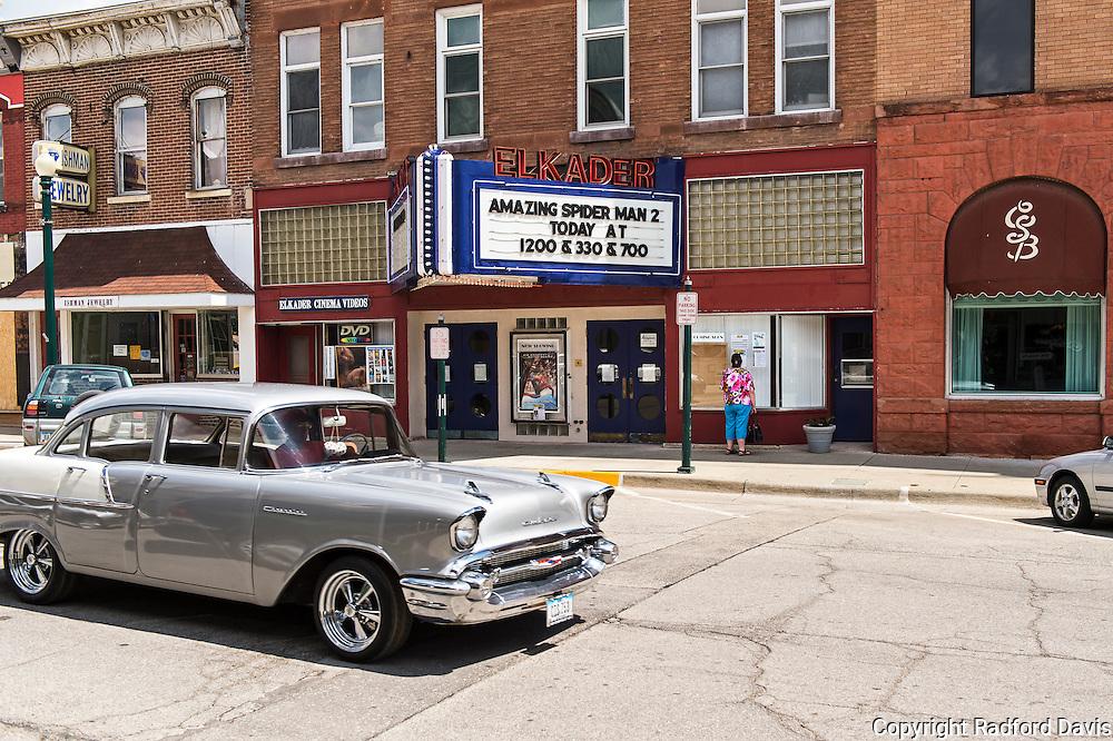 Elkader, Iowa. It doesn't feel like 2014. It feels more like 1956.