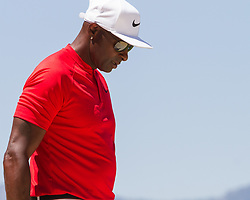 July 15, 2018 - Stateline, Nevada, U.S - Hall of Fame wide receiver, JERRY RICE, at the 17th green during the 29th annual American Century Championship at the Edgewood Tahoe Golf Course at Lake Tahoe, Stateline, Nevada, on Sunday, July 15, 2018. (Credit Image: © Tracy Barbutes via ZUMA Wire)