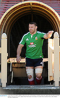 14 June 2013; Sean O'Brien, British & Irish Lions, arrives for the captain's run ahead of their game against NSW Waratahs on Saturday. British & Irish Lions Tour 2013, Captain's Run, North Sydney Oval, Sydney, New South Wales, Australia. Picture credit: Stephen McCarthy / SPORTSFILE