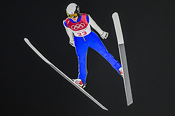 February 10, 2018 - Pyeonchang, Gangwon, South Korea - Antti Aalto of Finland at mens normal hill final at 2018 Pyeongchang winter olympics at Alpensia Ski Jumping Centre, Pyeongchang, South Korea on February 10, 2018. Ulrik Pedersen/Nurphoto  (Credit Image: © Ulrik Pedersen/NurPhoto via ZUMA Press)
