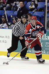 11 November 2006: Frank Littlejohn.&#xD;The Elmira Jackals met the Bloomington PrairieThunder at the U.S. Cellular Coliseum in Bloomington Illinois.<br />
