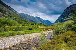 The river Coe in Glencoe, Scotland<br /> <br /> (c) Andrew Wilson | Edinburgh Elite media