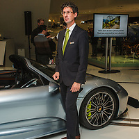 Dr. Frank-Steffen Walliser, Project leader on 918 Spyder project at the Porsche Museum in 2014