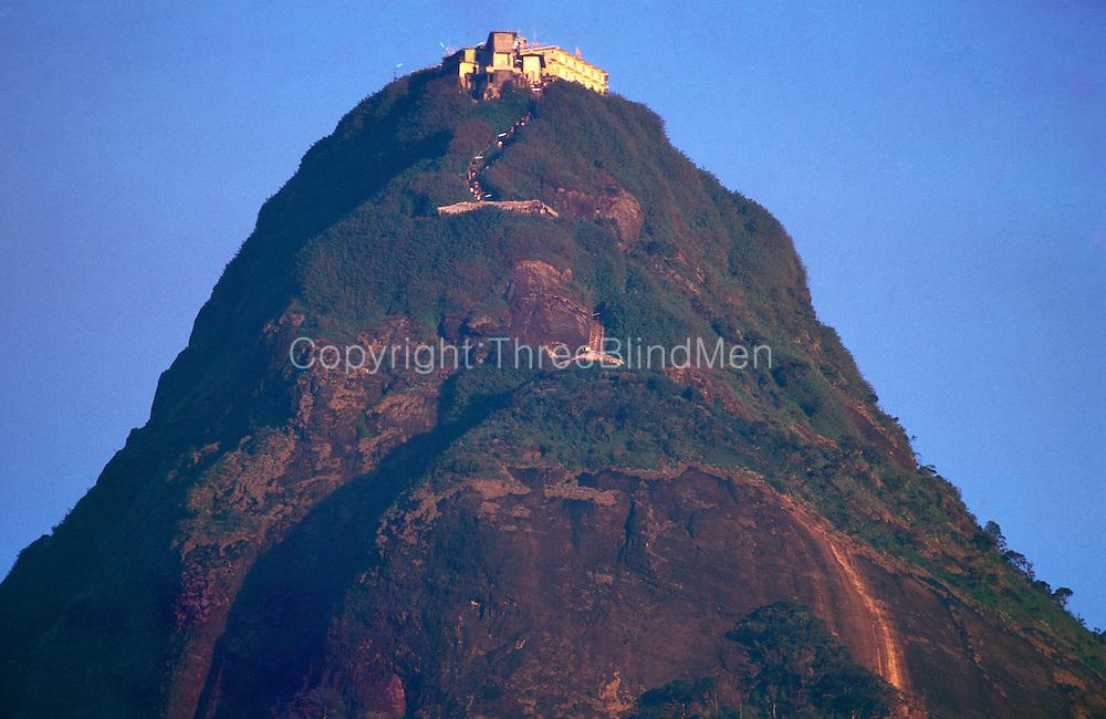 Adams Peak. Sri Pada. Sri Lanka