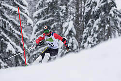 Mazi Remi of Belarus during Slalom race at 2019 World Para Alpine Skiing Championship, on January 23, 2019 in Kranjska Gora, Slovenia. Photo by Matic Ritonja / Sportida