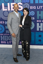 May 29, 2019 - New York, New York, United States - Keegan-Michael Key and Elisa Pugliese attend HBO Big Little Lies Season 2 Premiere at Jazz at Lincoln Center  (Credit Image: © Lev Radin/Pacific Press via ZUMA Wire)