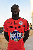 Francis Chris Malonga Ntsayi - 28.09.2015 - Photo officielle - Laval - Ligue 2<br /> Photo : Philippe Le Brech / Icon Sport