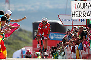 Jesus Herrada (ESP, Cofidis) during the 73th Edition of the 2018 Tour of Spain, Vuelta Espana 2018, Stage 13 cycling race, Candas Carreno - La Camperona 174,8 km on September 7, 2018 in Spain - Photo Luca Bettini / BettiniPhoto / ProSportsImages / DPPI