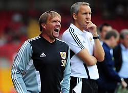 Bristol City assistant manager, Steve Wigley - Photo mandatory by-line: Joseph Meredith / JMPUK - 30/07/2011 - SPORT - FOOTBALL - Championship - Bristol City v West Bromwich Albion - Ashton Gate Stadium, Bristol, England