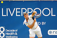 Picture by Ste Jones/Focus Images Ltd.  07706 592282.23/06/12.Barry Cowen (GBR) during the +medicash Liverpool International 2012 tennis at Calderstones Park, Liverpool.