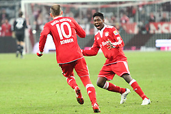 13-03-2009 VOETBAL: BAYERN MUNCHEN - SC FREIBURG: MUNCHEN<br /> Bayern Munchen wint met 2-1 van Freiburg / Arjen Robben scoort tweemaal en David Alaba<br /> ©2010-WWW.FOTOHOOGENDOORN.NL / nph - Straubmeie