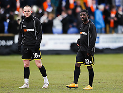 Bristol Rovers' Abdulai Bell-Baggie warms up before the match - Photo mandatory by-line: Neil Brookman/JMP - Mobile: 07966 386802 - 28/03/2015 - SPORT - Football - Macclesfield - Moss Rose - Macclesfield Town v Bristol Rovers - Vanarama Football Conference