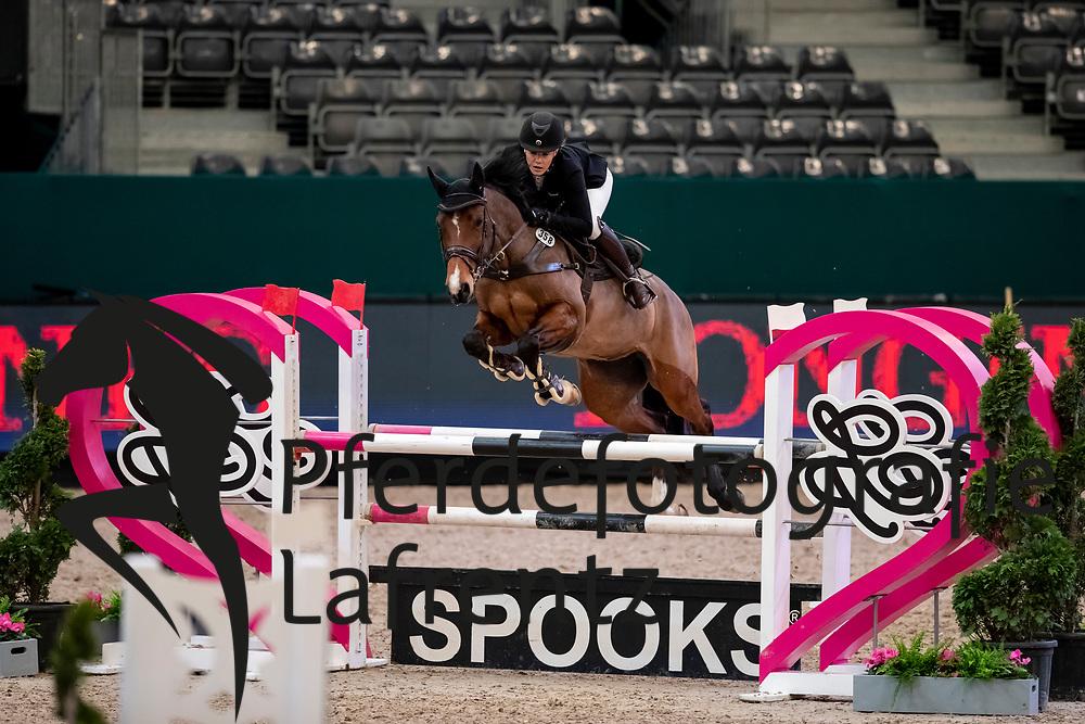 STEINBACH Katja (GER), Catinka<br /> Leipzig - Partner Pferd 2019<br /> SPOOKS-Amateur Trophy<br /> Medium Tour<br /> 18. Januar 2019<br /> © www.sportfotos-lafrentz.de/Stefan Lafrentz